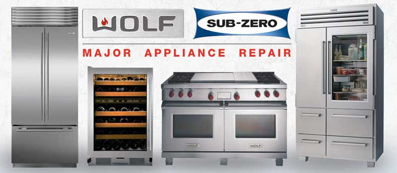 Wolf range repair near me and Sub Zero refrigerator repair near me Clintonville Ohio