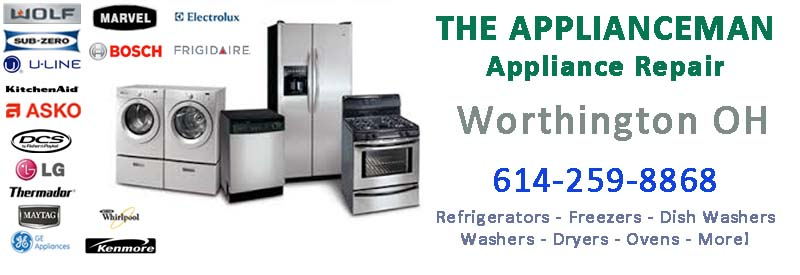 worthington ohio appliance repair