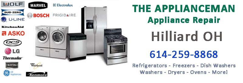 Appliance Repair in Hilliard Ohio