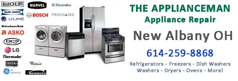 Appliance Repair in New Albany Ohio