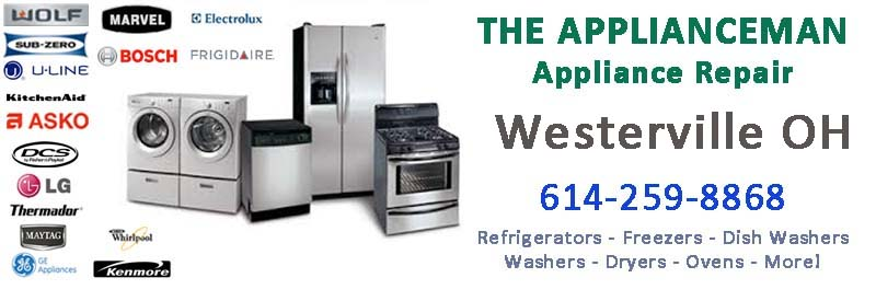 Appliance Repair in Westerville Ohio