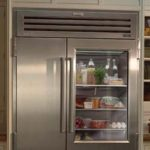 A refrigerator and freezer in need of repair in New Albany Ohio