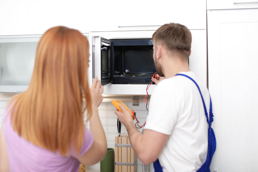 microwave inspection and repair