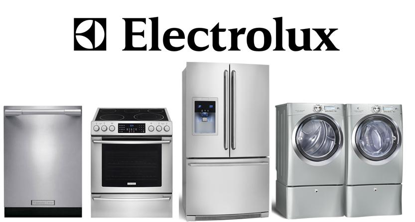 Electrolux dishwasher oven refrigerator washer dryer